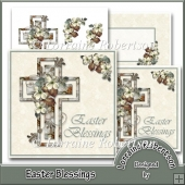 Easter Blessings 5 Inch Card