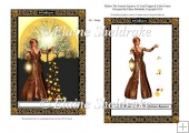 Mabon Autumn Equinox - A5 Card Topper With Decoupage