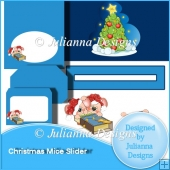 Christmas Mice Slider Set