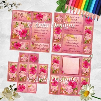 Floral Blush Neverending Card
