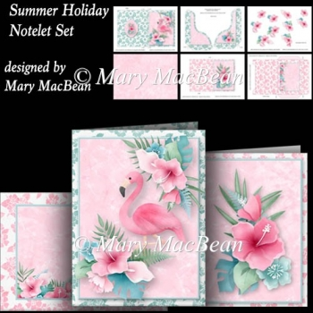Summer Holiday - Notelet Set