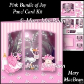 Pink Bundle of Joy - Panel Card Kit