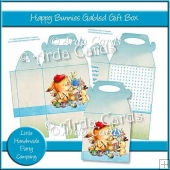 Happy Bunnies Gabled Gift Box