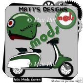 60's Mods in Green
