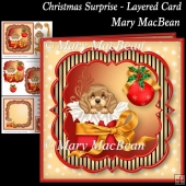Christmas Surprise Layered Card