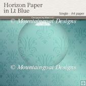 Horizon Paper in Light Blue