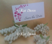 Cherry Blossom Wedding Collection - Save the Date Cutting File