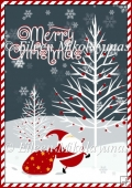 Candy Cane Stripe Christmas Backing Background Paper