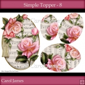 Simple Toppers - 8