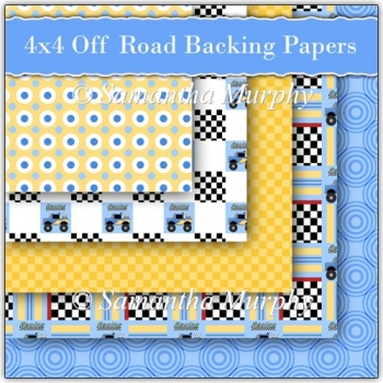 5 4x4 Off Road Backing Papers Download