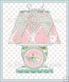 Princess Lamp Diecut Shape Card in 3 Sizes
