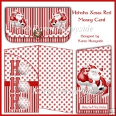 Hohoho Xmas Red Money Card