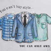 YOU CAN'T BUY STYLE CARD