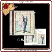 PS060 Deco Couple Card Front
