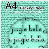 ref1_bp668 - Turquoise Christmas Jingle Bells