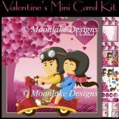 Vesper Love, Valentine's Greeting Card Kit