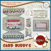 Sweet Tidings Cracker Shaped Fold Card Kit