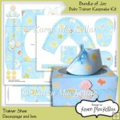 Bundle Of Joy Baby Boy Trainer Shoe Keepsake Kit