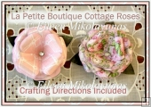 La Petite Boutique Dimensional Cottage Roses Set 2