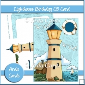 Lighthouse Birthday C5 Card