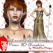 Fantasy Elf Poser Graphics Set 4