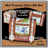 In The Garden - Mini Treasure Chest Gift Box
