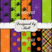 Halloween Mix Paper Pack 1