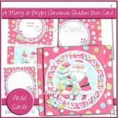A Merry & Bright Christmas Shadow Box Card