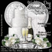 Wedding Day Shaped Card Mini Kit