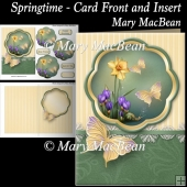 Springtime - Card Front and Insert