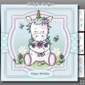 Spring Unicorn Mini Kit With Ages 1 to 9yrs
