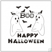 Boo Digital Stamp