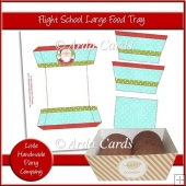 Flight School Large Food Tray