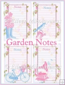 Garden Notes Embellishment Panels Set 1