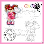 Sweet Jenny and Sentiment Digital Stamp