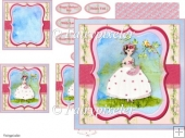 Garden Fairy card Kit