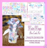 WaterWings Box Card Kit by Lynne K Crawshaw