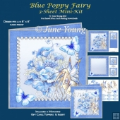 Blue Poppy Fairy