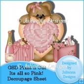 GSD Its all so Pink! Decoupage Sheet Cutting File