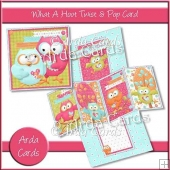 What A Hoot Twist & Pop Card