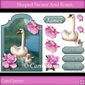 Shaped - Swans And Roses