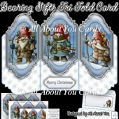 Bearing Gifts Tri Fold Card