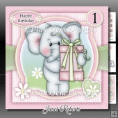 Elephant Surprise Mini Kit With Ages 1 to 6 Yrs