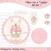 Make me a Topper - Bear 1(Retiring in August)