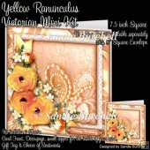 Yellow Ranunculus Victorian Mini Kit