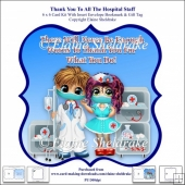 Thank You To All The Hospital Staff - 6 x 6 Card Kit