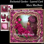 Enchanted Garden Layered Card