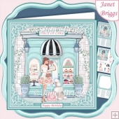 CAKE SHOP 7.5 Decoupage & Insert Card Kit