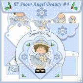 lil' Snow Angel Beauty Spring Card #4
