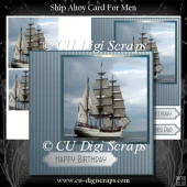 Ship Ahoy Pryamage Card Front